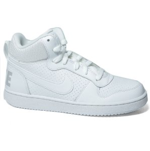 Tênis Cano Alto Nike Court Borough Mid Infantil 839977