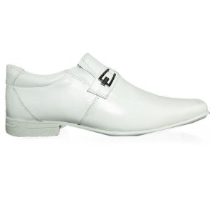 Sapato Calvest Social 3840D241 Bico Quadrado Masculino