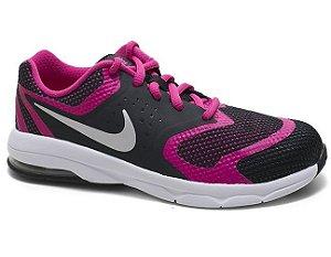 Tênis Nike Air Max Premiere RUN (PS) 716789 Feminino Infantil Black Pink Silver