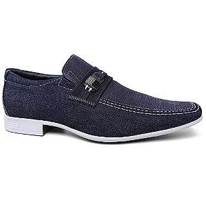 Sapato Jota Pe Polo Jeans 22752/6 Masculino Azul Jeans
