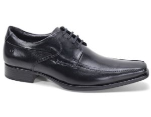 Sapato Democrata Cosmo Flex Stretch 013114 Social Masculino Couro Preto