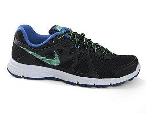 Tênis Nike Revolution 2 554901 Feminino Black Royal Limão