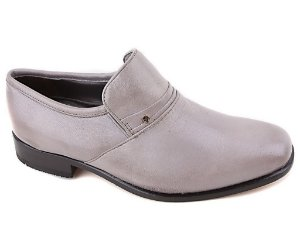 Sapato Calvest Esporte C62637 Couro Cinza