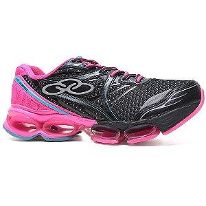 Tênis Olympikus Decision 2 100 Training Feminino Preto Pink