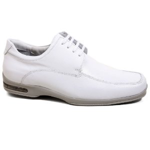 Sapato Calvest Social 2020B686 Doctor Line Masculino Branco