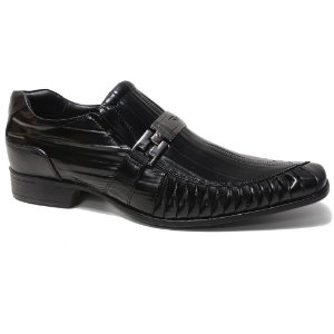 Sapato Rafarillo 7849 Social Masculino Couro Preto