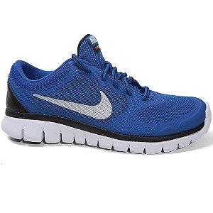 Tênis Nike Flex 2015 724988 Feminino Royal Silver Black