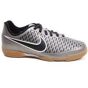 Tênis Nike Magista Ola Ic Jr 651650 De Futsal Pewter Black White Tam 31 Ao 36