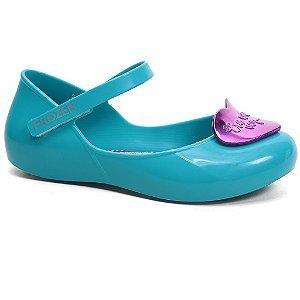 Sapatilha Grendene Disney Princesas 21433 Infantil Tam 23 ao 32 Azul Cobra