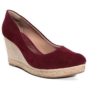 Sapato Ramarim 16-66101 Boneca Feminino Nobuck Vinho