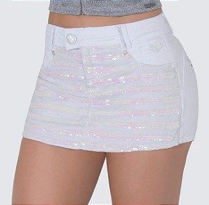 Short Saia Pit Bull Jeans C/ Bojo Ref. 27941