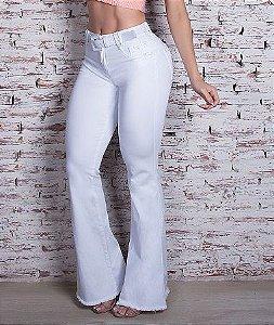 Calça Flare Pit Bull Jeans C/ Bojo Ref. 28420