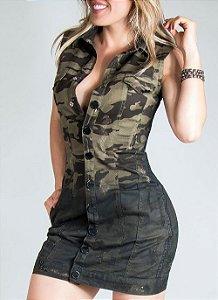 Vestido Colete Pit Bull Jeans Ref. 27524