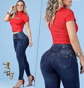 Calça Rhero Jeans C/Bojo Ref 56200
