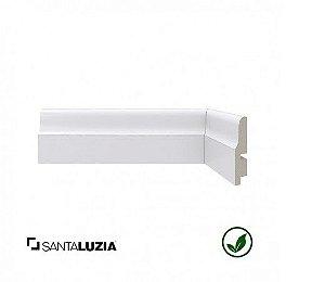 Rodapé Santa Luzia poliestireno 442 branco Clássica 6,7cm x 15mm x 2,40m
