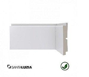 (LOTE PROMOCIONAL) FDL Rodapé Santa Luzia poliestireno 445 branco Clássica 11,6cm x 21mm x 2,40m