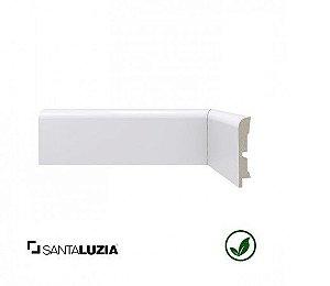 Rodapé Santa Luzia poliestireno 446 branco Moderna 7cm x 15mm x 2,40m