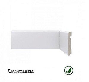 (LOTE PROMOCIONAL) FDL Rodapé Santa Luzia poliestireno 450 branco Moderna 8cm x 14mm x 2,40m