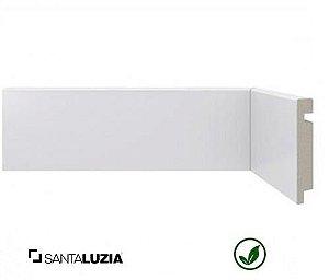 Rodapé Santa Luzia poliestireno 451 branco Moderna 7cm x 13mm x 2,40m