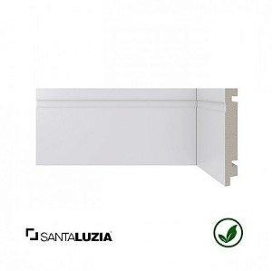 Rodapé Santa Luzia poliestireno 457 branco Moderna 10cm x 16mm x 2,40m