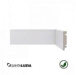 Rodapé Santa Luzia poliestireno 459 branco Moderna 7cm x 16mm x 2,40m