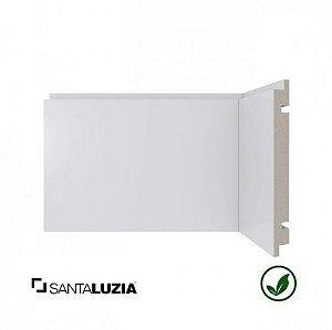 Rodapé Santa Luzia poliestireno 461 branco Moderna 15cm x 16mm x 2,40m