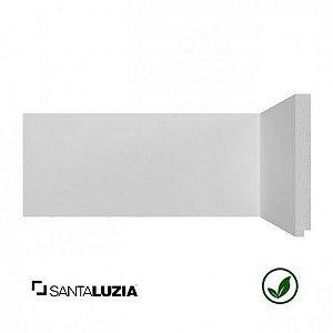 Rodapé Santa Luzia poliestireno 496 branco Moderna 15cm x 16mm x 2,40m