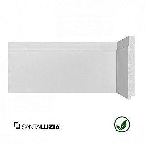 Rodapé Santa Luzia poliestireno 502 branco Moderna 15cm x 16mm x 2,40m