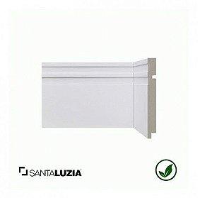 Rodapé Santa Luzia poliestireno 513 branco Moderna 15cm x 16mm x 2,40m