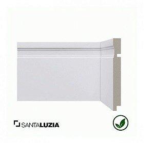 Rodapé Santa Luzia poliestireno 515 branco Moderna 15cm x 16mm x 2,40m
