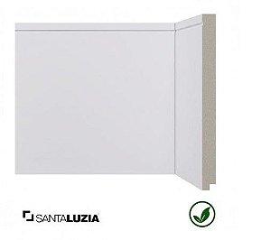 Rodapé Santa Luzia poliestireno 519 branco Inova 20cm x 16mm x 2,40m