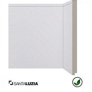 Rodapé Santa Luzia poliestireno 520 branco Inova 25cm x 16mm x 2,40m