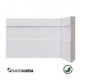Rodapé Santa Luzia poliestireno 522 branco inova 15cm x 16mm x 2,40m