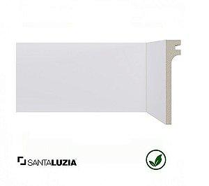 Rodapé Santa Luzia poliestireno 548 branco Reforma 11cm x 20mm x 2,40m