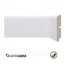 Rodapé Santa Luzia poliestireno 550 branco Moderna 10cm x 16mm x 2,40m