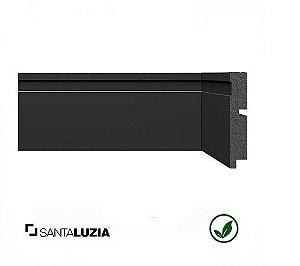 Rodapé Santa Luzia poliestireno 3457 preto Black 10cm x 16mm x 2,40m