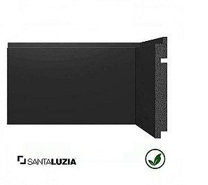 Rodapé Santa Luzia poliestireno 3461 preto Black 15cm x 16mm x 2,40m