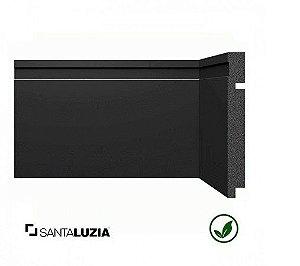 Rodapé Santa Luzia poliestireno 3480 preto Black 15cm x 16mm x 2,40m
