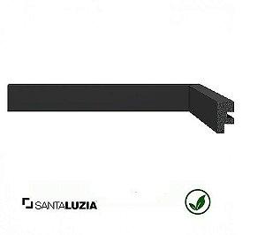 Rodapé Santa Luzia poliestireno 3466 preto Black 3cm x 16mm x 2,40m
