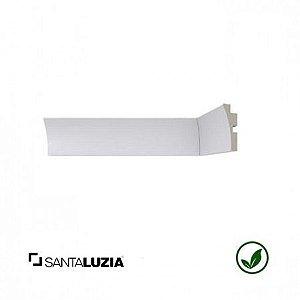 Rodateto Santa Luzia poliestireno 441 branco Moderna 5cm x 26mm x 2,40m