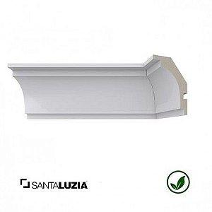 Rodateto Santa Luzia poliestireno 475 branco Moderna 7cm x 50mm x 2,40m