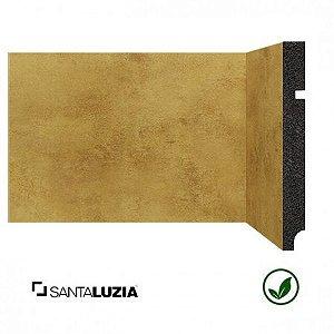 Rodapé Santa Luzia poliestireno 3496 Ouro Coleção Óxi 15cm x 16mm x 2,40m