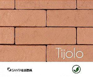 Revestimento de parede Ecobrick Santa Luzia Tijolo grande - 7,5cmx27cmx9mm