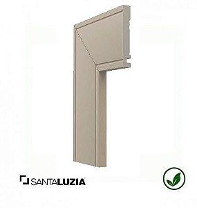 Guarnição Santa Luzia poliestireno 517 Cinza Glacial Inova uber 10cm x 16mm x 2,40m