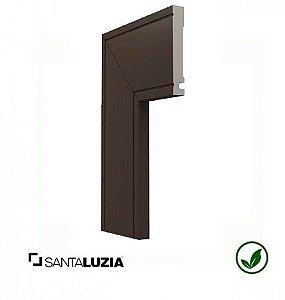 Guarnição Santa Luzia poliestireno 517 Ferrugem Inova uber 10cm x 16mm x 2,40m