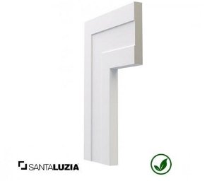 Guarnição Santa Luzia poliestireno 521 branco Inova 10cm x 16mm x 2,40m