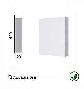Sócalo 177 Santa Luzia poliestireno branco Clássica 10cm x 8cm x 20mm