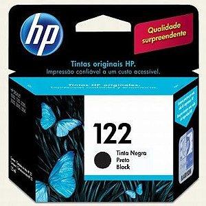 Cartucho de Tinta Preto HP 122 CH561HL