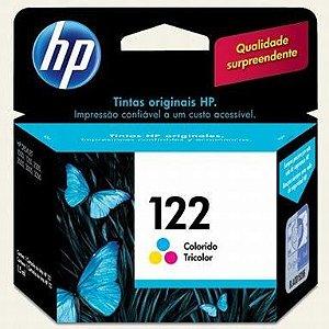 Cartucho de Tinta Colorido HP 122 CH562HL