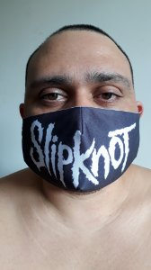 Máscara Slipknot logo